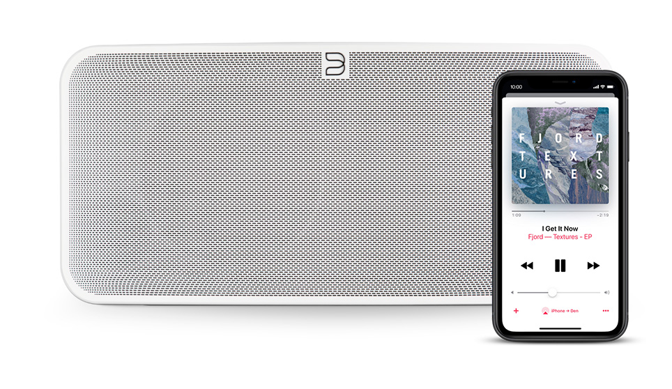 airplay2 and pulse 2i wireless speaker