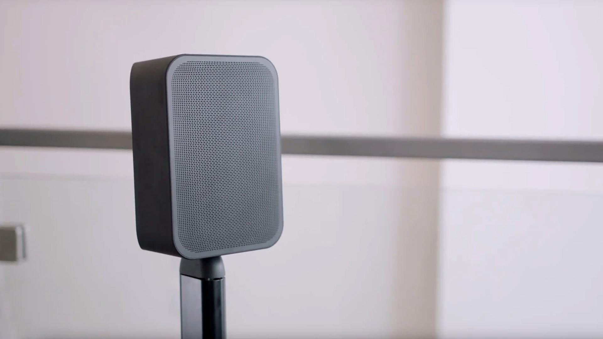 Bluesound PULSE FLEX operating as a surround speaker
