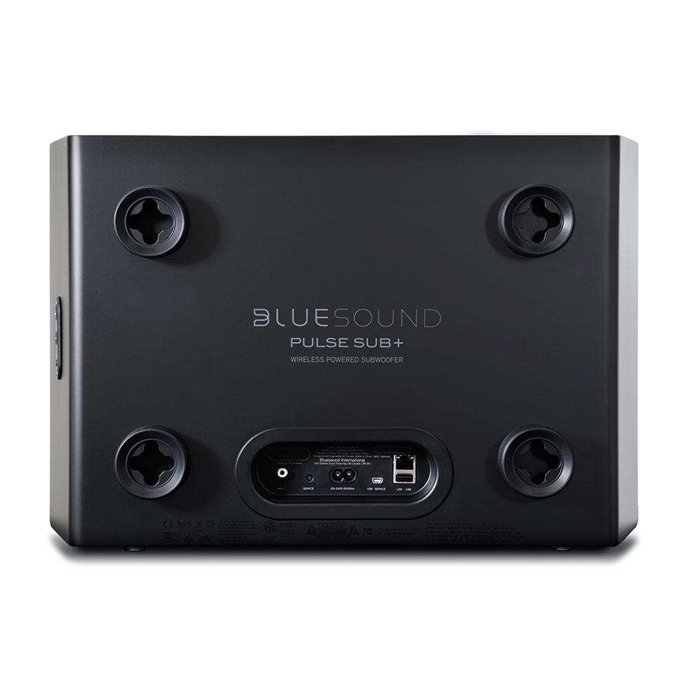 Black PULSE SUB+ rear