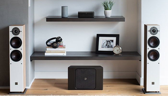 powernode streaming amplifier wireless subwoofer