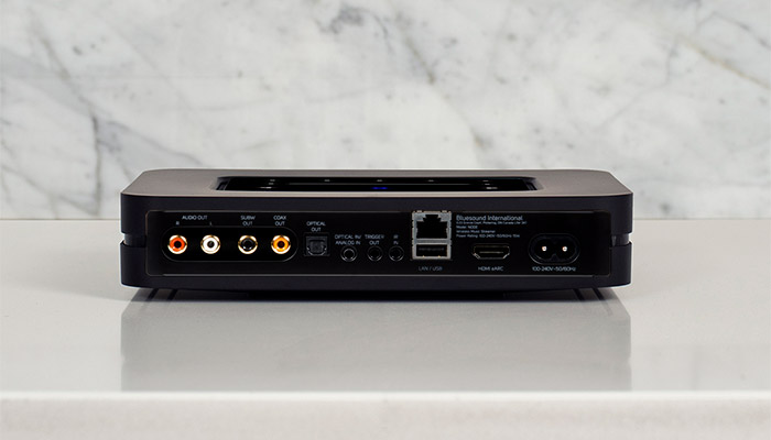 wireless music streamer connections