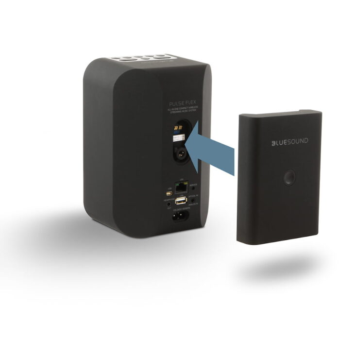 Black Battery Pack with PULSE FLEX